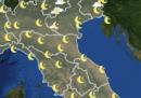 Meteo: le previsioni per domani, martedì 7 aprile