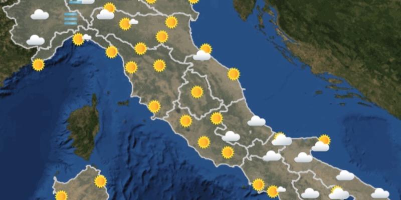 Le previsioni meteo per domani, domenica 5 aprile - Il Post