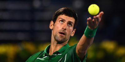 Novak Djokovic ha detto di essere contrario ai vaccini