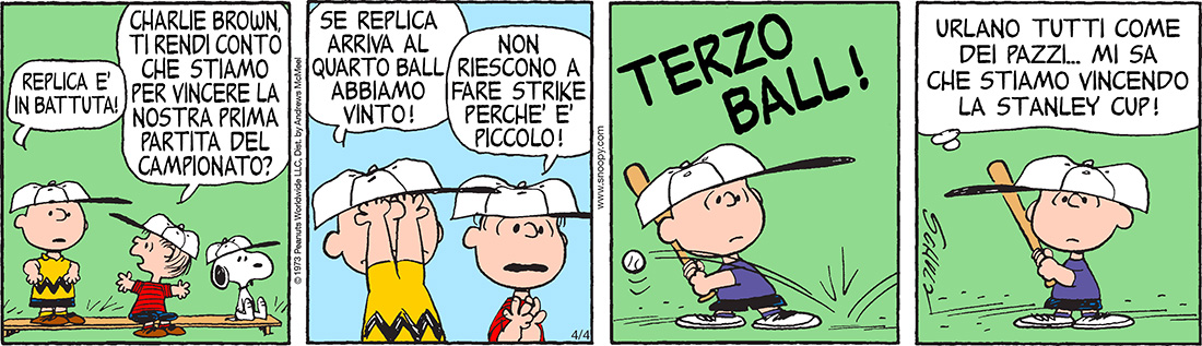 Peanuts 2020 aprile 4 - Il Post