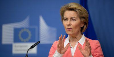 Ursula von der Leyen dice che l'Europa deve chiedere scusa all'Italia