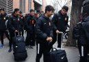 La squadra di calcio di Wuhan è tornata a Wuhan