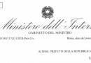 La circolare del ministero dell'Interno sulla