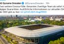 Una squadra di calcio della Serie B tedesca andrà in isolamento dopo che due giocatori sono risultati positivi al coronavirus