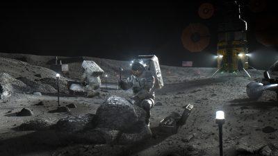 La NASA ha messo in competizione SpaceX, Blue Origin e Dynetics per i futuri viaggi sulla Luna