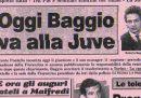 Gli scontri a Firenze per la cessione di Roberto Baggio alla Juventus