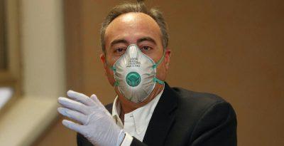 La Regione Lombardia e i dati sull'epidemia