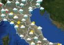 Le previsioni del meteo per lunedì 11 maggio