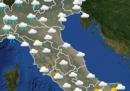 Le previsioni meteo per mercoledì 13 maggio
