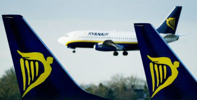 Ryanair prevede di tagliare fino a 3mila posti di lavoro a causa della crisi dovuta al coronavirus