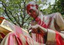 Da dove arriva la statua di Indro Montanelli a Milano