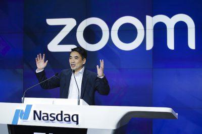Tra febbraio e aprile la società dell'app di videochiamate Zoom ha aumentato i ricavi del 169% rispetto al 2019