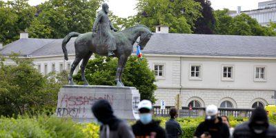 Anche in Belgio si discute di statue pubbliche