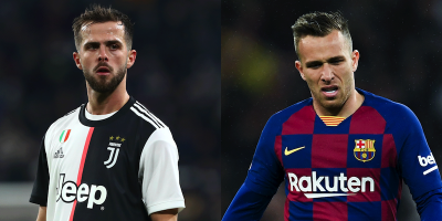 La Juventus ha scambiato Miralem Pjanić con Arthur Melo del Barcellona