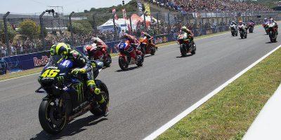 La MotoGP inizierà il 19 luglio in Spagna