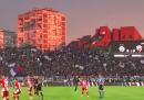 Intanto il derby di Belgrado si è giocato come se nulla fosse