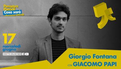 Cosa sarà, con Giorgio Fontana