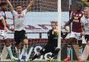 L'imbarazzante errore della goal-line technology in Aston Villa-Sheffield United