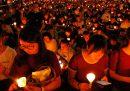 A Hong Kong per la prima volta è stata vietata l'annuale veglia di commemorazione delle proteste di piazza Tienanmen