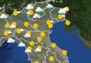 Le previsioni meteo per oggi, giovedì 2 luglio
