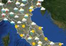Le previsioni meteo per mercoledì 17 giugno