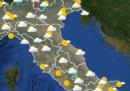 Le previsioni meteo per giovedì 25 giugno