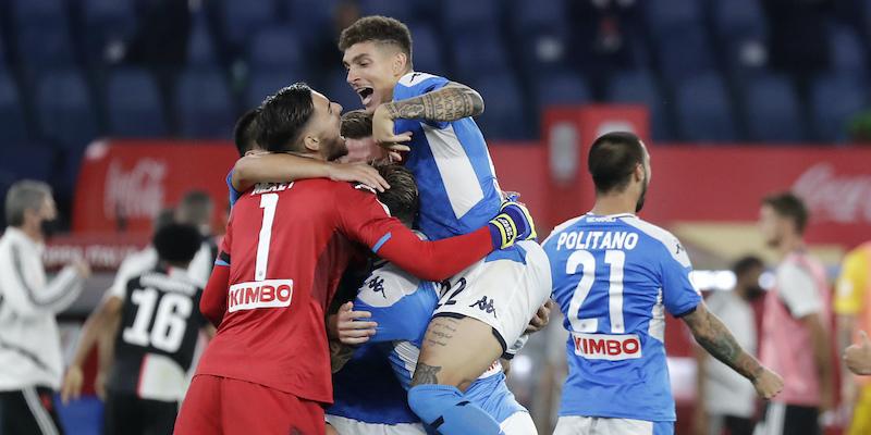 Il Napoli ha vinto la Coppa Italia - Il Post
