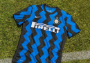 Le foto della nuova maglia dell'Inter 2020/21
