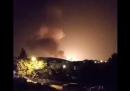 C'è stata una grossa esplosione nei pressi di una base militare in Iran