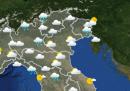 Le previsioni meteo per domani, domenica 14 giugno