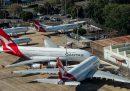 La compagnia aerea australiana Qantas taglierà 6mila posti di lavoro