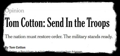 Ci sono opinioni che il New York Times non dovrebbe pubblicare?
