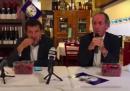 Il video di Salvini che mangia le ciliegie mentre Zaia parla di neonati morti in ospedale