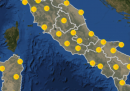 Le previsioni meteo per martedì 28 luglio