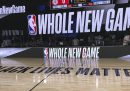 Com'è la bolla della NBA