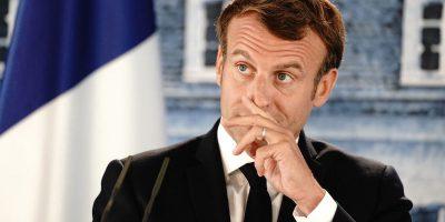 Macron non se la passa bene