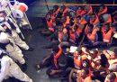 Ieri sera è stato autorizzato lo sbarco a Malta dei 52 migranti salvati dalla nave cargo Talia