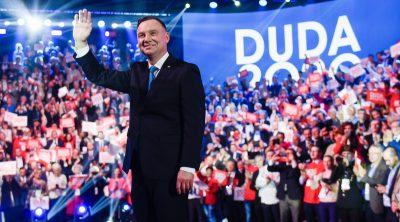 Andrzej Duda è stato rieletto presidente in Polonia