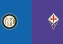 Inter-Fiorentina, dove vederla in TV stasera
