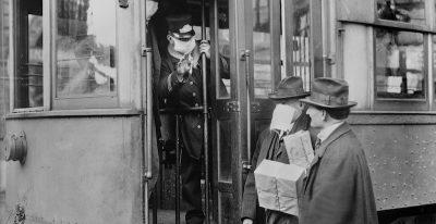 Si litigava per le mascherine anche durante l'influenza spagnola
