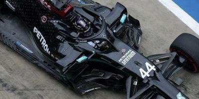 Un'auto nera va più lenta, in Formula 1?