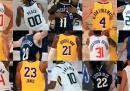I messaggi scritti dai giocatori NBA sulle loro maglie