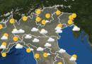 Le previsioni meteo per domani, martedì 7 luglio