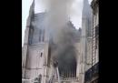 L'incendio nella cattedrale di Nantes