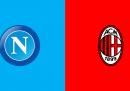 Napoli-Milan in tv o in streaming