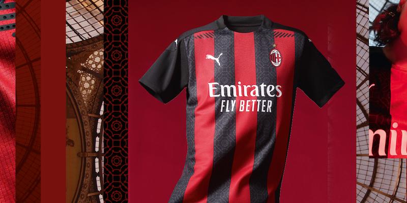 La nuova maglia del Milan per il 2020/2021 - Il Post