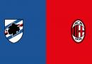 Sampdoria-Milan, dove vederla in TV stasera