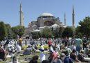 La prima preghiera nella moschea di Santa Sofia dopo 86 anni