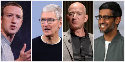 Le grandi società di tecnologia al Congresso statunitense