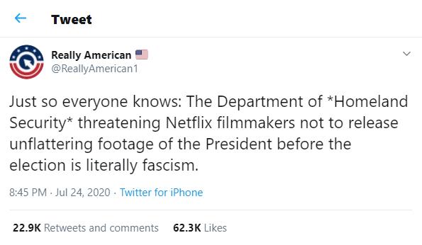 Tweet Really American